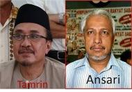 Penyokong2 Ansari dan Tamrin bertumbuk depan Anwar…