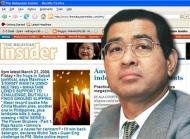 Sebar Fitnah : Malaysian Insider Akui Siar Berita Tanpa Fakta TerhadapTajudin